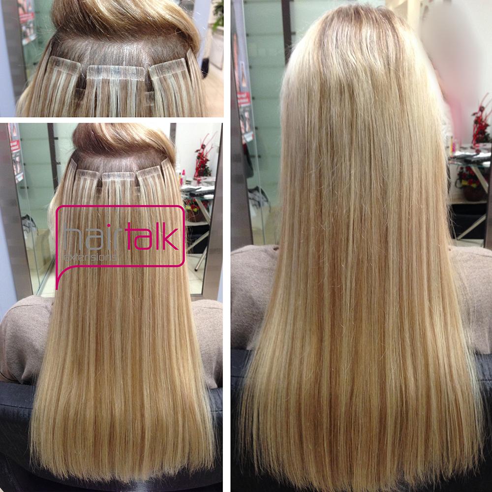 Техника наращивания волос прядями
